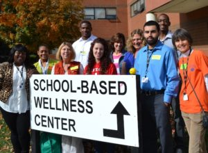 Photo of wellness center staff