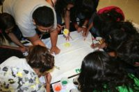 Identity Youth Painting a Poster