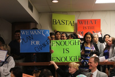 advocates-holding-signs-3-21-16-mcps-boe-meeting